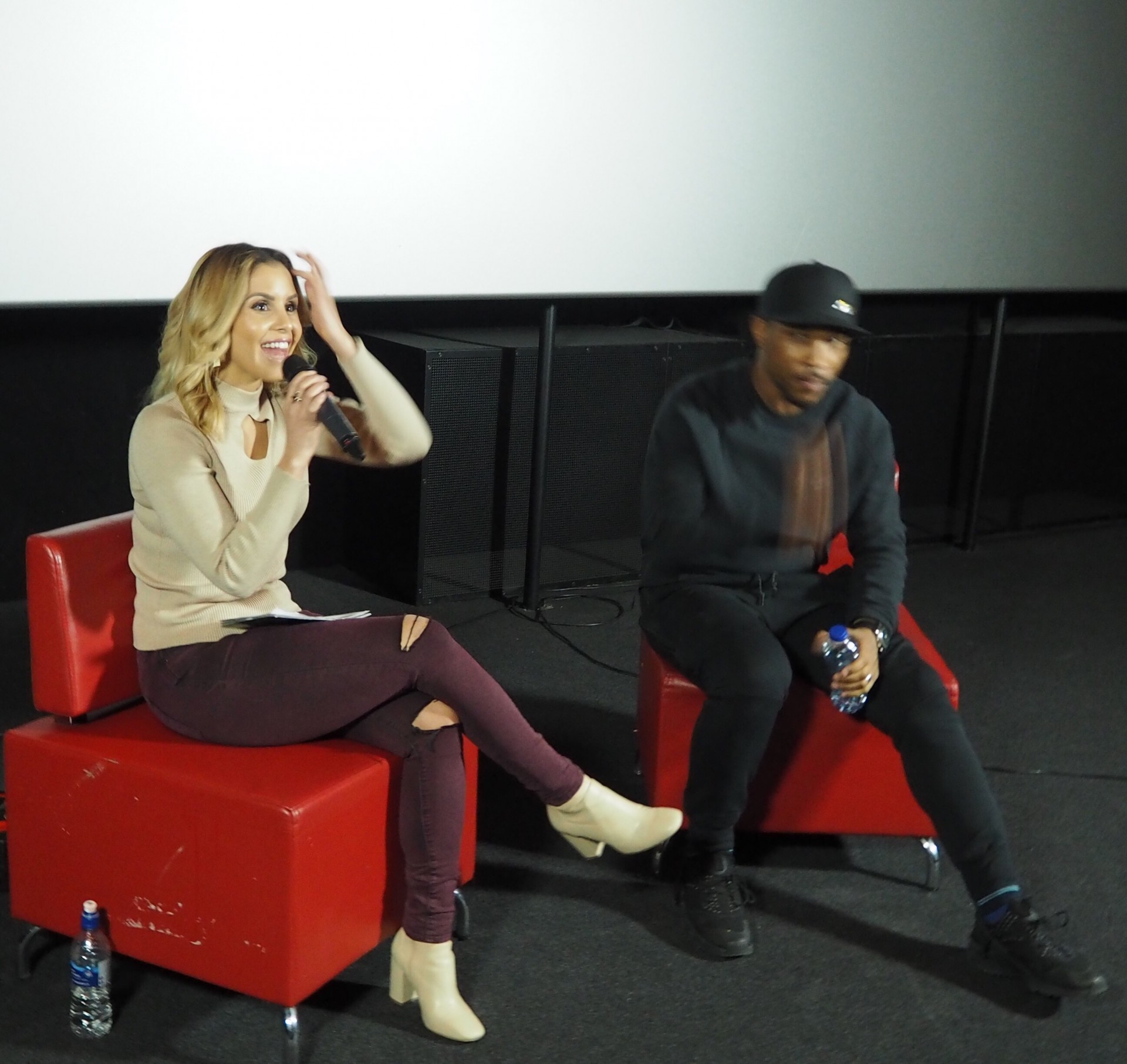 Shanie Interviews Film & TV Star Ashley Walters at 'Your